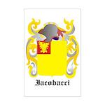 Iacobacci Coat of Arms Mini Poster Print