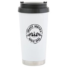 Silent Service Ceramic Travel Mug