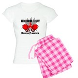 Knock Out Blood Cancer pajamas