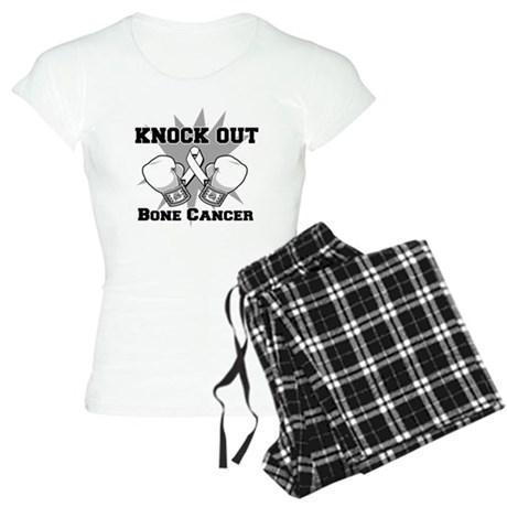 Knock Out Bone Cancer Women's Light Pajamas