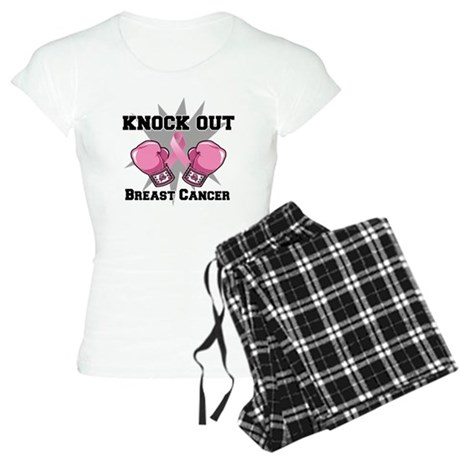 Knock Out Breast Cancer Women's Light Pajamas
