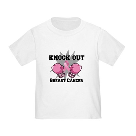 Knock Out Breast Cancer Toddler T-Shirt