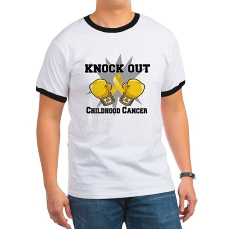 Knock Out Childhood Cancer Ringer T