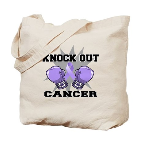 Knock Out Cancer Tote Bag