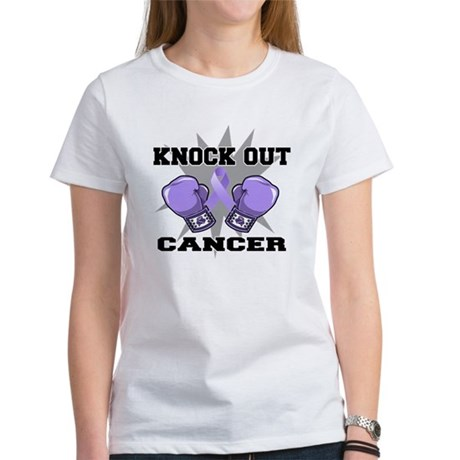 Knock Out Cancer Women's T-Shirt