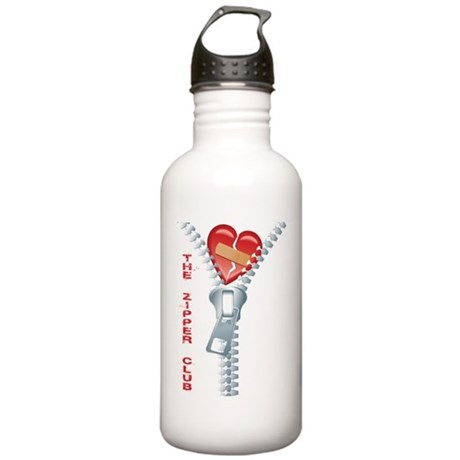 Zipper Club Stainless Water Bottle 1.0L