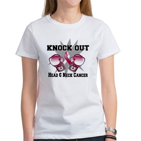 Knock Head Neck Cancer Women's T-Shirt