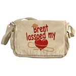 Brent Lassoed My Heart Messenger Bag