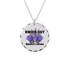 Knock Hodgkins Lymphoma Necklace