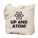 Up and Atom Tote Bag