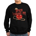 Bruce Lassoed My Heart Sweatshirt (dark)