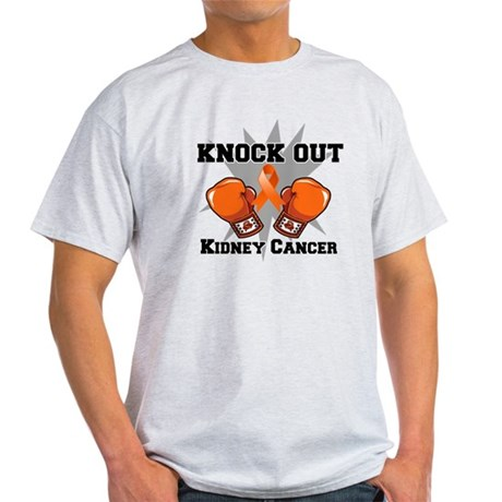Knock Out Kidney Cancer Light T-Shirt