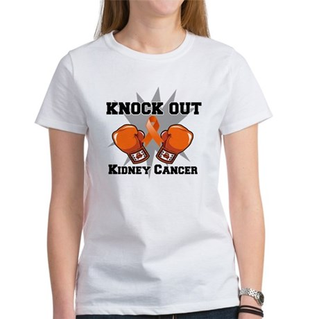 Knock Out Kidney Cancer Women's T-Shirt