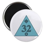 32nd Degree Canada Magnet