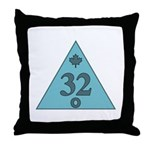 32nd Degree Canada Throw Pillow