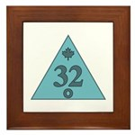 32nd Degree Canada Framed Tile