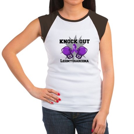 Knock Out Leiomyosarcoma Women's Cap Sleeve T-Shir