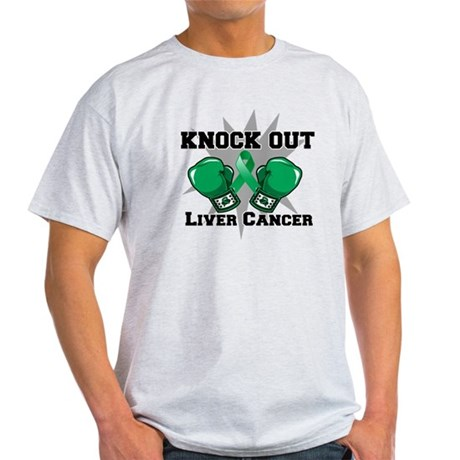 Knock Out Liver Cancer Light T-Shirt