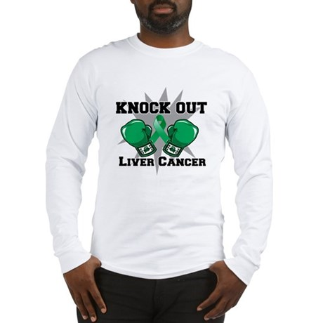 Knock Out Liver Cancer Long Sleeve T-Shirt