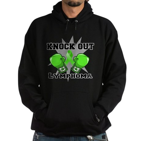 Knock Out Lymphoma Hoodie (dark)