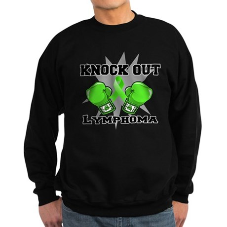 Knock Out Lymphoma Sweatshirt (dark)