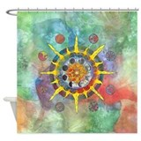 Celtic Stargate Shower Curtain