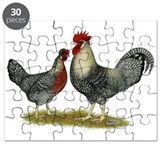 Legbar Cream Fowl Puzzle