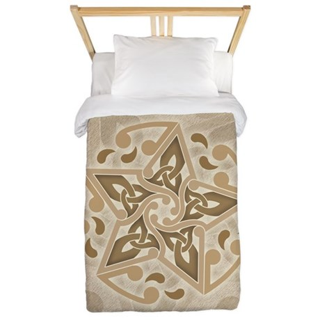 Celtic Star Twin Duvet Cover