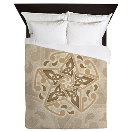 Celtic Star Queen Duvet Cover