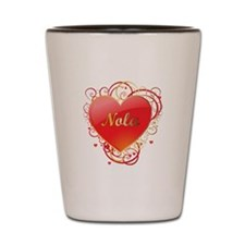 Nola Valentines Shot Glass