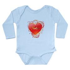 Nola Valentines Long Sleeve Infant Bodysuit