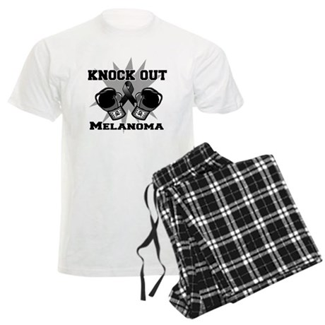 Knock Out Melanoma Men's Light Pajamas