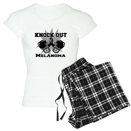 Knock Out Melanoma Women's Light Pajamas