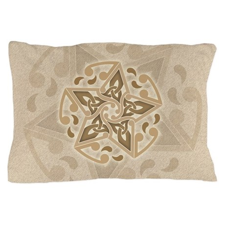 Celtic Star Pillow Case