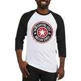 Old Capitol City Roller Girls Henley 3/4 sleeve T
