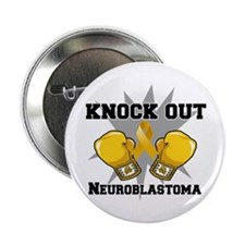 "Knock Out Neuroblastoma 2.25"" Button (100 pack)"