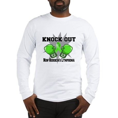 Knock Non-Hodgkins Lymphoma Long Sleeve T-Shirt