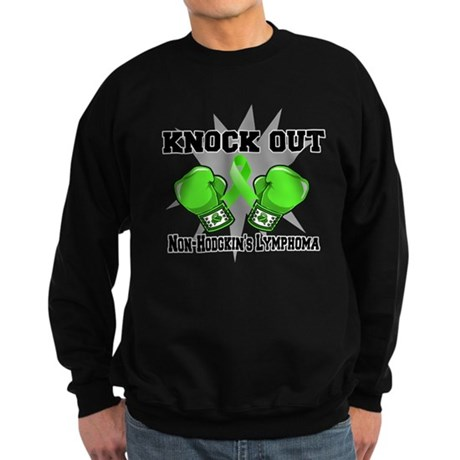 Knock Non-Hodgkins Lymphoma Sweatshirt (dark)
