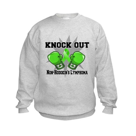 Knock Non-Hodgkins Lymphoma Kids Sweatshirt