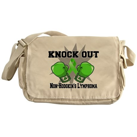 Knock Non-Hodgkins Lymphoma Messenger Bag