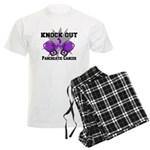 Knock Out Pancreatic Cancer Men's Light Pajamas