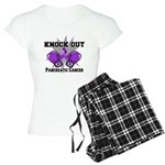 Knock Out Pancreatic Cancer Women's Light Pajamas