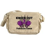 Knock Out Pancreatic Cancer Messenger Bag