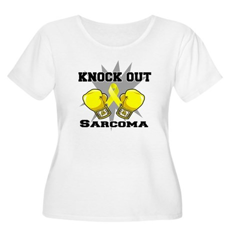 Knock Out Sarcoma Women's Plus Size Scoop Neck T-S