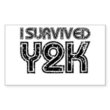 I Survived Y2K Decal