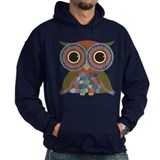 Little Colorful Owl Hoody