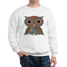 Little Colorful Owl Sweatshirt