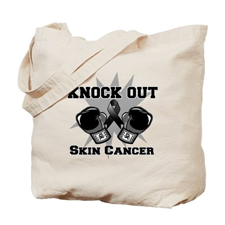 Knock Out Skin Cancer Tote Bag