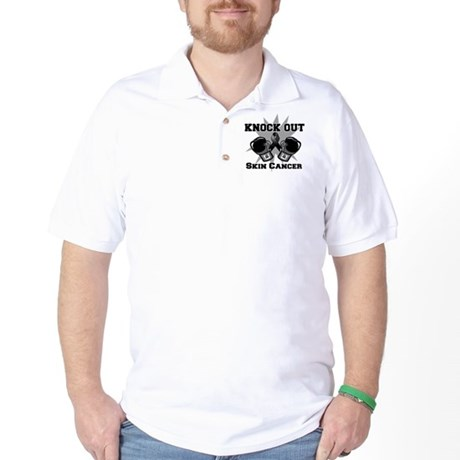 Knock Out Skin Cancer Golf Shirt