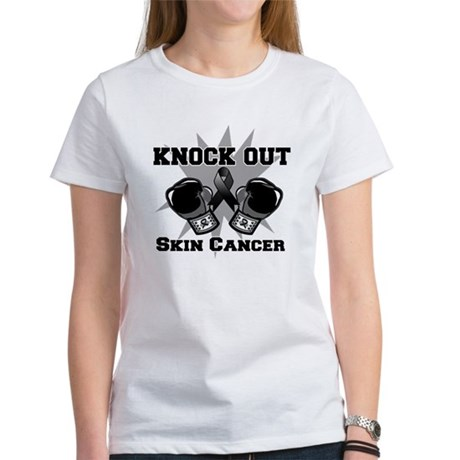 Knock Out Skin Cancer Women's T-Shirt